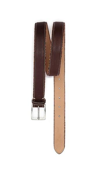 Paul Smith Vintage Multistripe Piping Belt