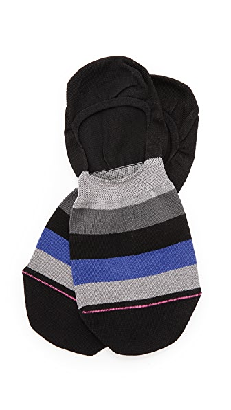 Paul Smith Block Stripe Loafer Socks