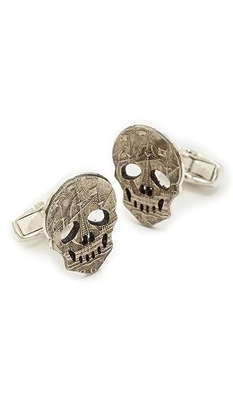 Paul Smith Skull Coin Cufflinks