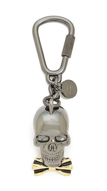 Paul Smith Dressed Skull Keyring