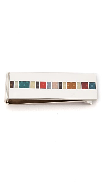 Paul Smith Oval Spot Money Clip