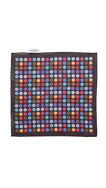 Paul Smith Polka Dot Pocket Square