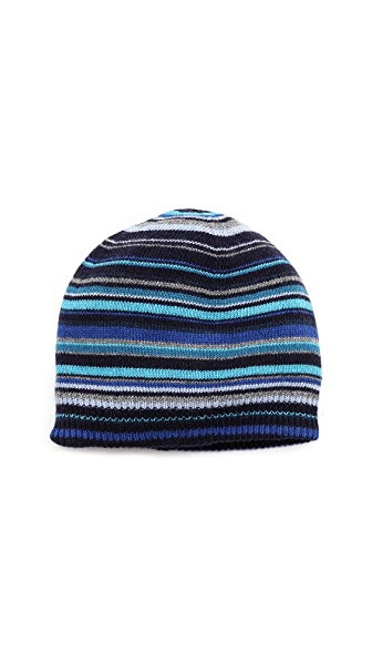 Paul Smith Multi-Stripe Beanie