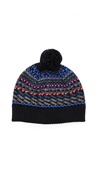 Paul Smith Fair Isle Beanie