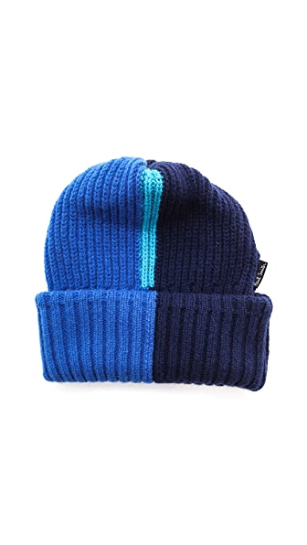 Paul Smith Vertical Neon Beanie