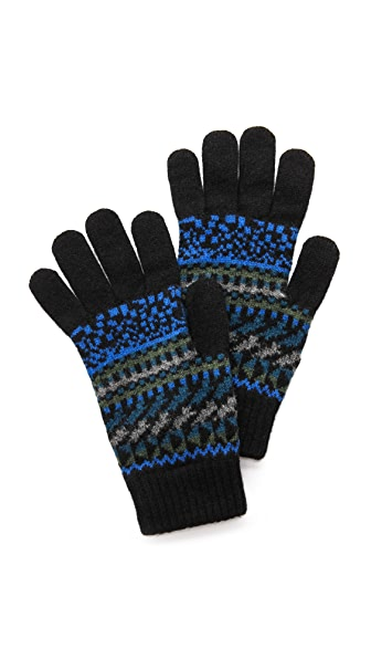 Paul Smith Fair Isle Gloves