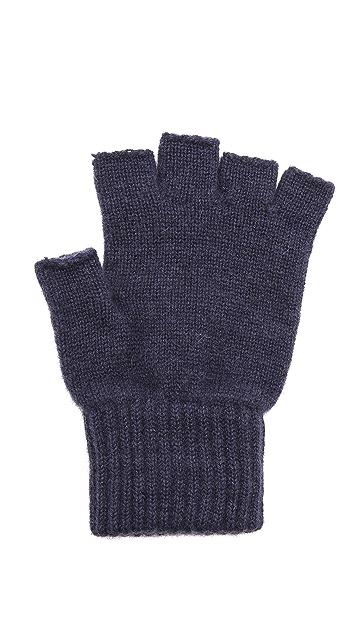 Paul Smith Cashmere Fingerless Gloves