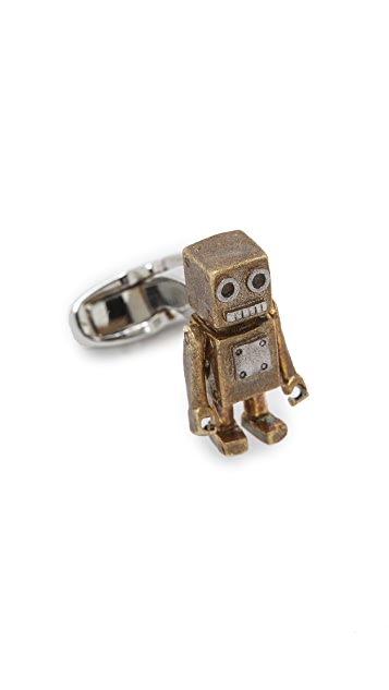 Paul Smith Tin Toy Cufflinks