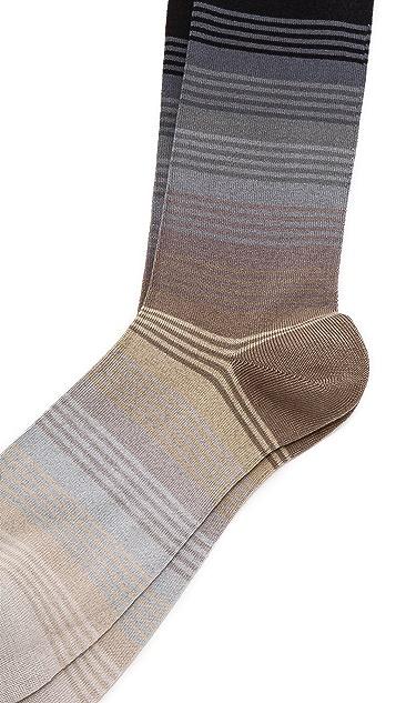 Paul Smith Graduated Stripe Socks