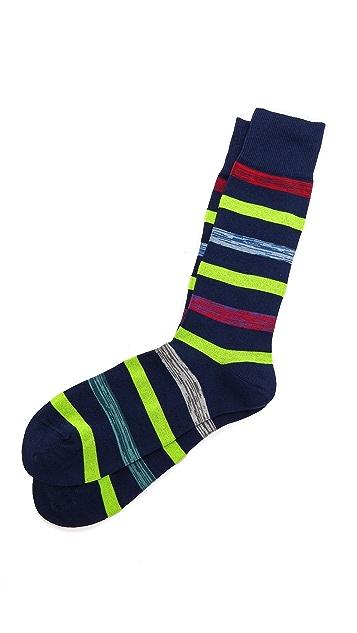 Paul Smith Neon Twist Socks