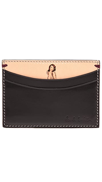 Paul Smith Naked Lady Credit Card Holder