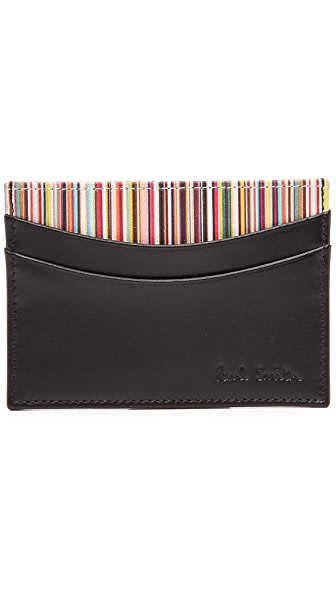 Paul Smith Interior Multi Stripe Card Holder