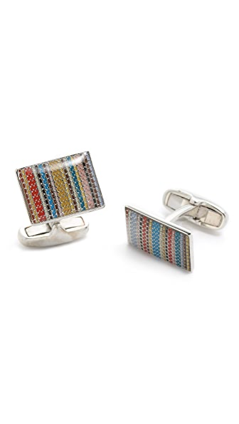 Paul Smith Multi Stitch Cufflinks