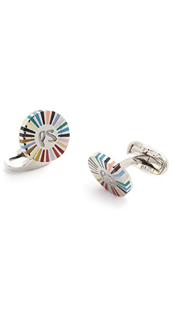 Paul Smith Stripe Ray Cufflinks