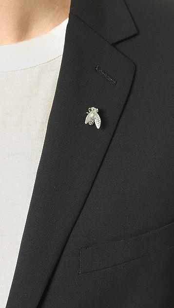 Paul Smith Fly Tie Lapel Pin