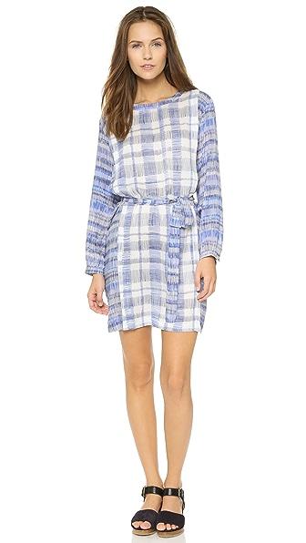 Kupi Paul Smith online i prodaja Paul Smith Pleated 3-4 Sleeve Dress Blue-White haljinu online