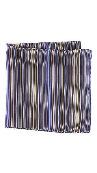Paul Smith New Stripe Pocket Square