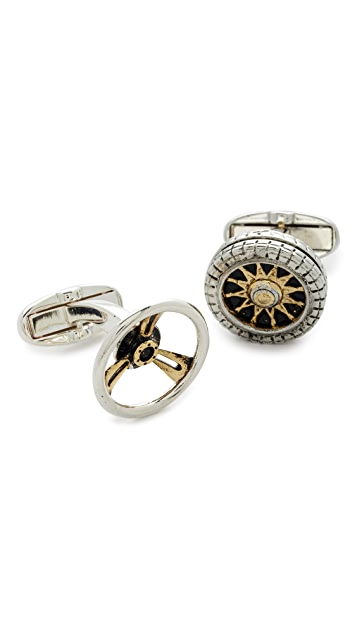 Paul Smith Mixed Pair Cuff Links
