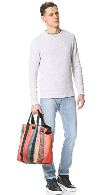 Paul Smith Painted Stripe Tote