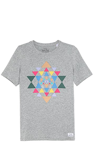 Paul Smith Jeans Slim Fit Triangle Print T-Shirt
