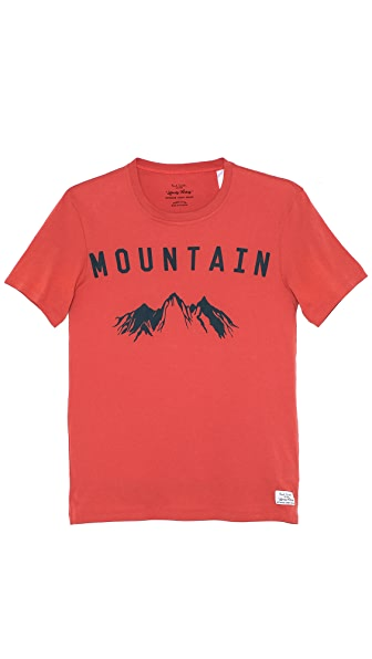 Paul Smith Jeans Slim Fit Mountain T-Shirt