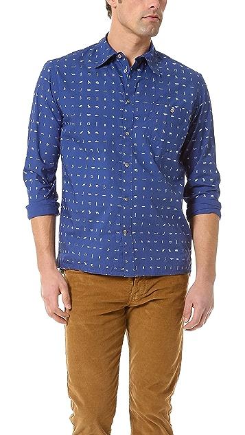 Paul Smith Jeans Long Sleeve Sport Shirt