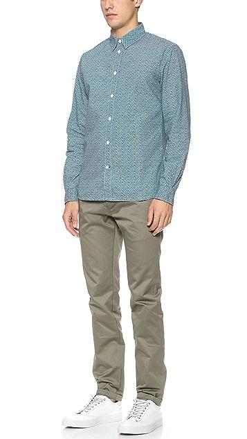 Paul Smith Jeans Triangle Print Shirt