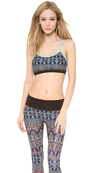 PRISMSPORT Stained Glass Sports Bra