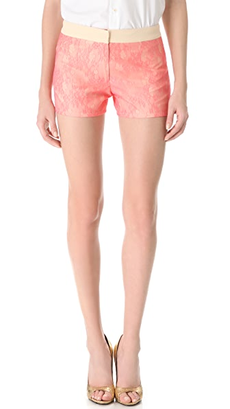 Peter Som Lace Shorts