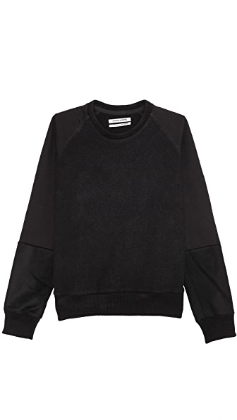 Public School Pieced Sleeve Sweatshirt