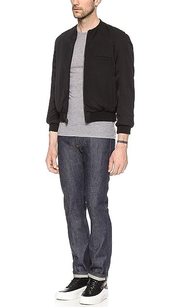 Public School Reversible Nylon & Mesh Jacket