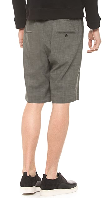 Public School Wool Shorts