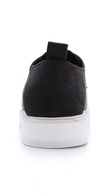 Public School Public School x The Generic Man Leather & Suede Sneakers