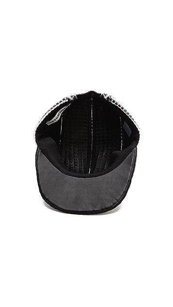 Public School Leather Cap