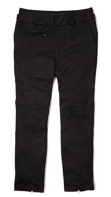Public School Double Waistband Trapunto Pants