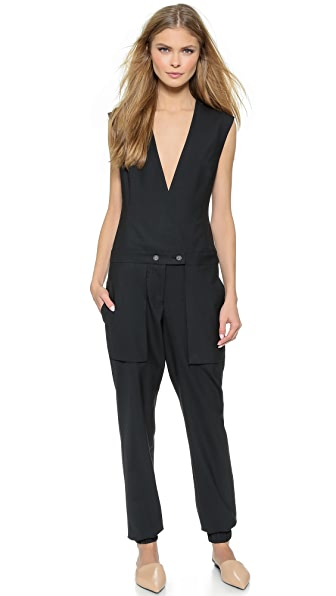Public School Pant Jumpsuit - Black