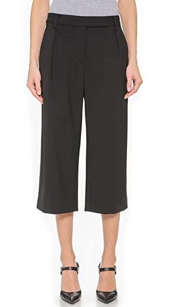 Public School Pleated Cropped Pants