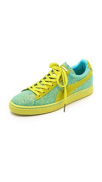 PUMA Puma x Solange Suede Graphic Sneakers