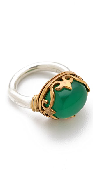 push BY PUSHMATAaHA Small Monarch Ring