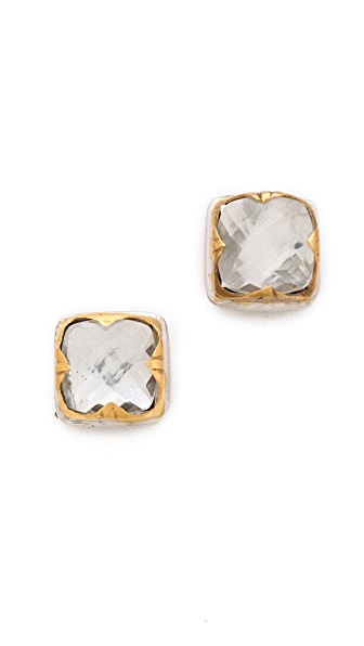 push BY PUSHMATAaHA Square Stack Stud Earrings
