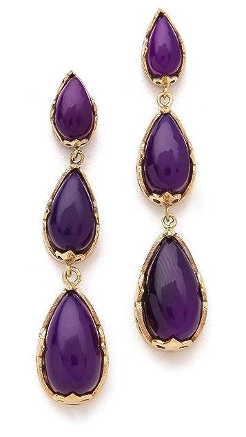 push BY PUSHMATAaHA Tri Monarch Earrings
