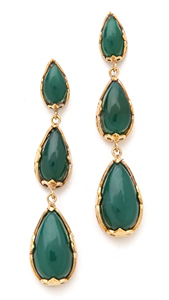 push BY PUSHMATAaHA Tri Monarch Earrings