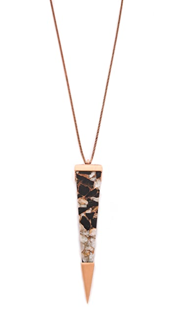 push BY PUSHMATAaHA Shard Pendant Necklace
