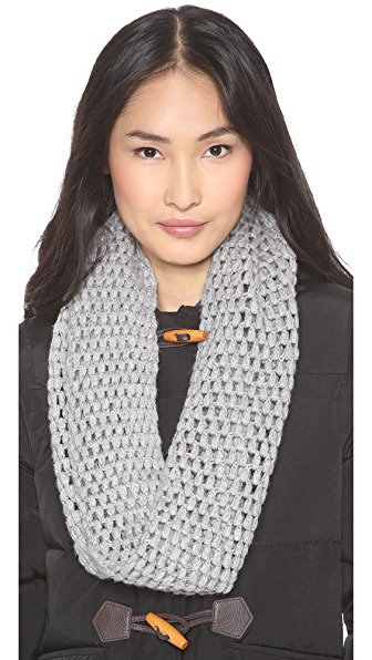 QUINN Open Knit Tube Scarf