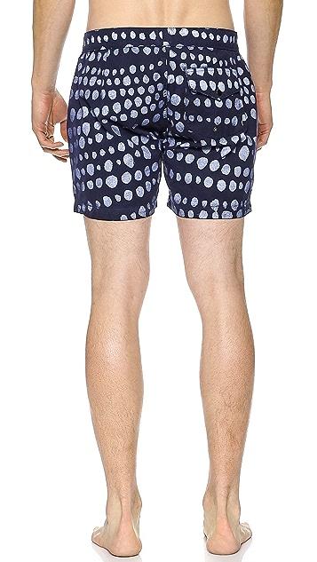 Quality Peoples Folka Dots Board Shorts