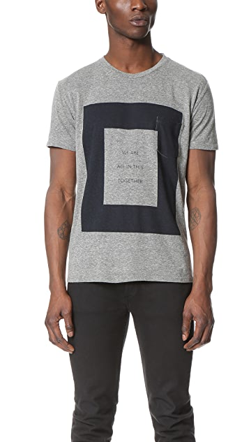 Quality Peoples All Together Pocket Tee