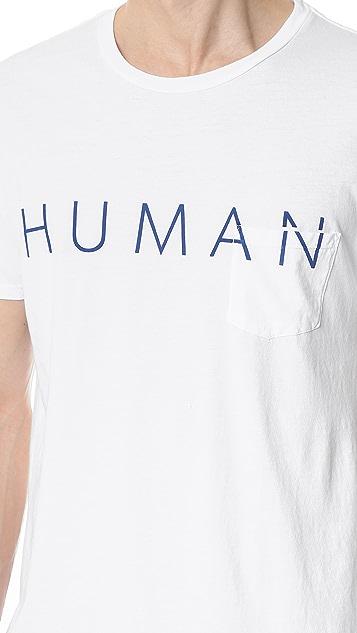 Quality Peoples Human Pocket Tee