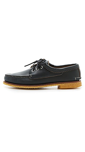 Quoddy Blucher Boat Shoes