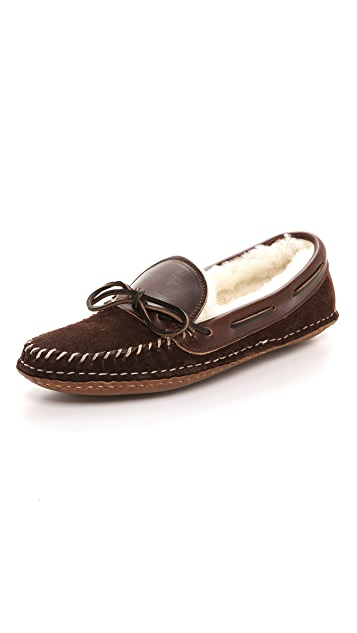 Quoddy Lodge Moc Slippers