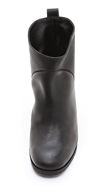 Rachel Comey Pen Pal Chunky Heel Booties